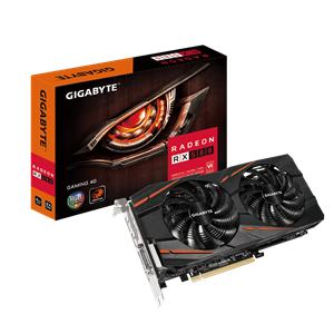 Gigabyte RX 580 4GB Graphics Card