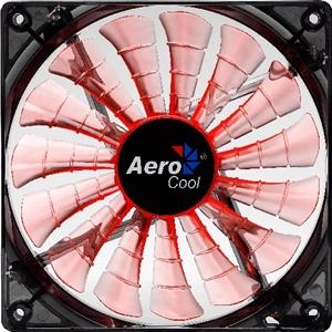 Aerocool Shark Fan 120mm Orange LED Fan