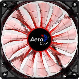 Aerocool Shark Fan 140mm Orange LED Fan