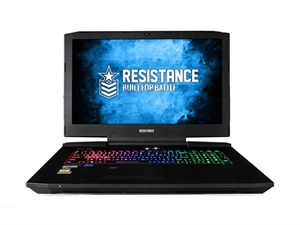 "Resistance VR Fury 17.3"" 4K Intel Core i7-7700K Gaming Laptop"