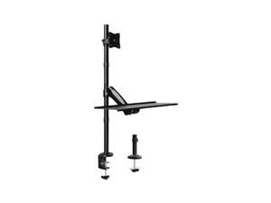 Brateck Single Monitor Sit Stand Workstation