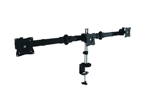 Brateck Three LCD Desk Mount With Desk Clamp