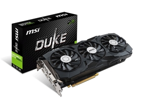 MSI GeForce GTX 1080Ti DUKE 11GB OC Graphics Card