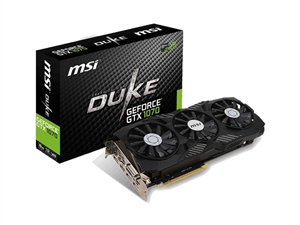 MSI GeForce GTX 1070 Duke OC 8GB Gaming Graphics Card