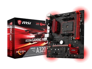 MSI A320M Gaming Pro AM4 MATX AMD Motherboard
