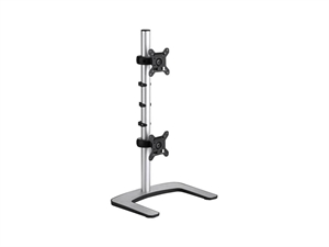 Atdec Visidec VFS-DV Freestanding LCD Monitor Stand for Dual Monitors