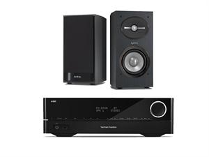 Harman Kardon HiFI System w/ Harman Infinity 152 Speakers