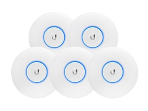 Ubiquiti UniFi AC Lite Dual Radio Access Point (5 Pack) - UAP-AC-LITE5 (PoE not included)