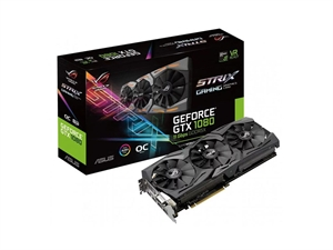 ASUS GeForce GTX 1080 OC Edition 8GB 11Gbps Graphiics Card
