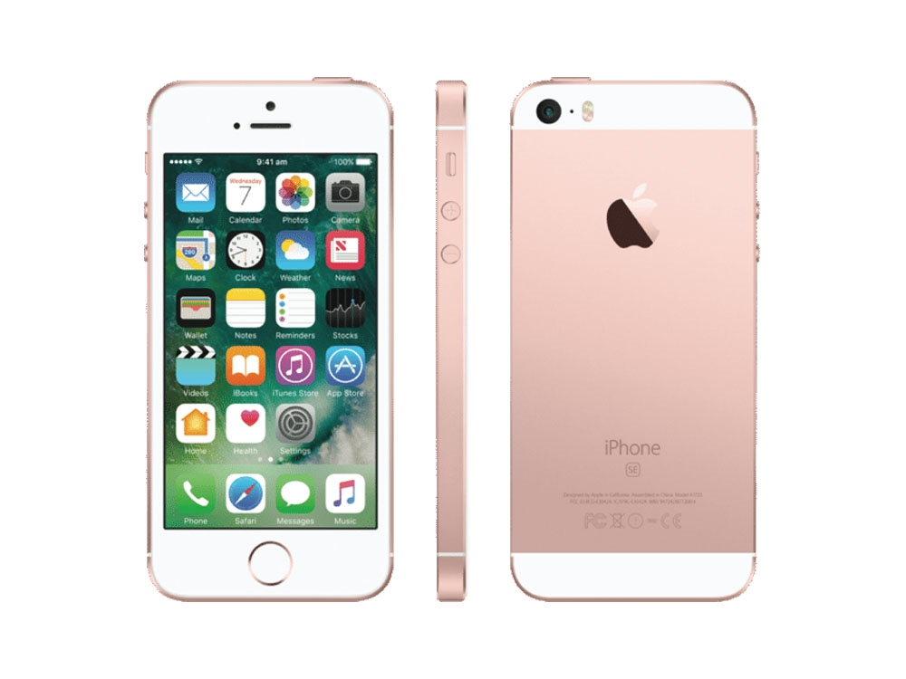 apple iphone se 64gb rose gold mlxq2x a centre com. Black Bedroom Furniture Sets. Home Design Ideas