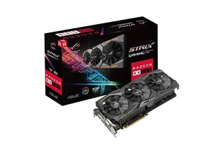 ASUS Radeon RX 580 ROG Strix TOP Edition 8GB Graphics Card