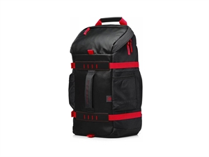 "HP 15.6"" Odyssey Backpack - Black/Red"
