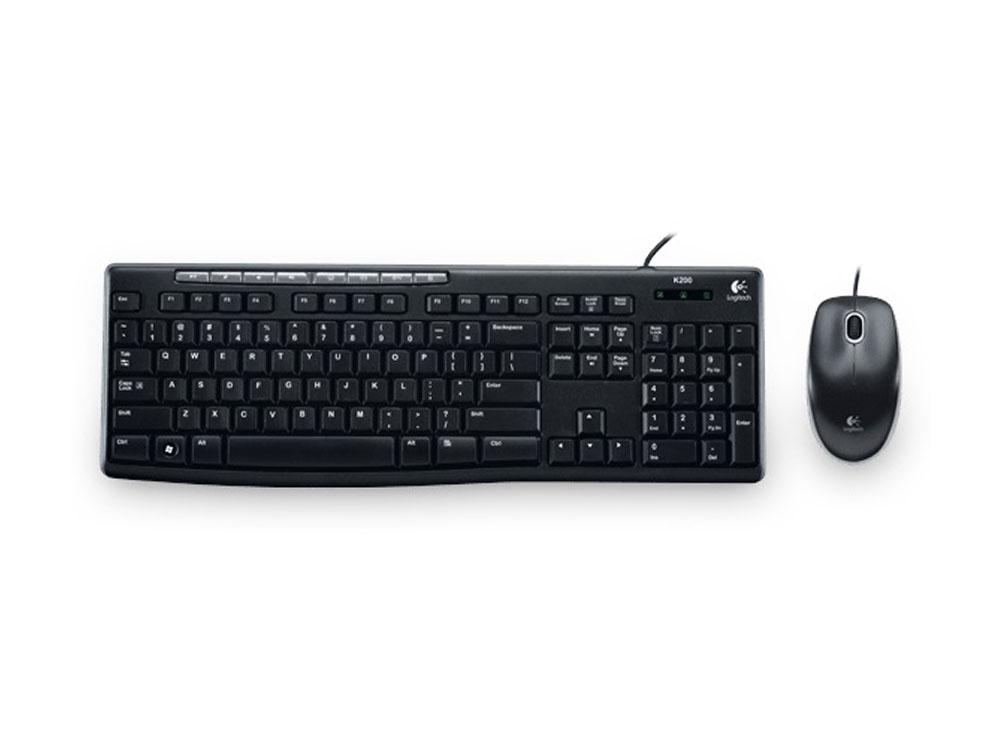 Logitech MK200 Media Keyboard & Mouse Combo (920-002693) | Centre Com : Best PC Hardware Prices!