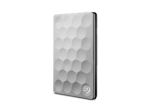 Seagate 1TB BackUp Plus Ultra Slim - Platinum