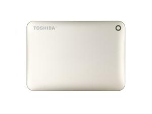 Toshiba 2TB Canvio Connect II Portable Hard Drive - Gold