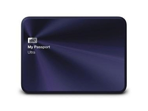 Western Digital 1TB My Passport Ultra Metal Edition - Blue/Black