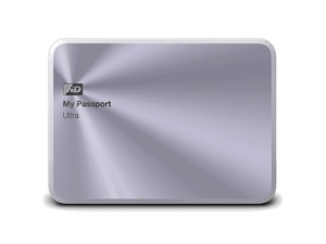 Western Digital 1TB My Passport Ultra Metal Edition - Silver