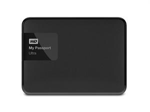 """Western Digital 1TB My Passport Ultra 2.5"""" External USB 3.0 Hard Drive - Black"""