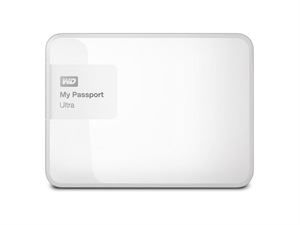 "Western Digital 2TB My Passport Ultra 2.5"" External USB 3.0 Hard Drive - White"