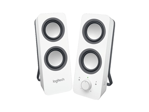 Logitech Z200 Multimedia Speakers - Snow White