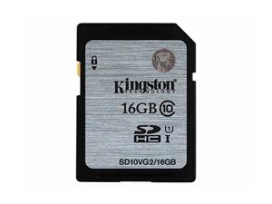 Kingston 16GB SDXC/SDHC Class 10 UHS-I SD Card - SD10VG2/16GBFR