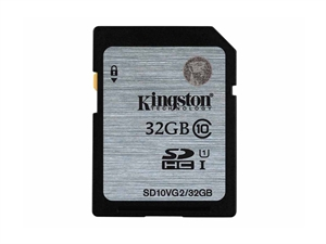 Kingston 32GB SDXC/SDHC Class 10 UHS-I SD Card - SD10VG2/32GBFR