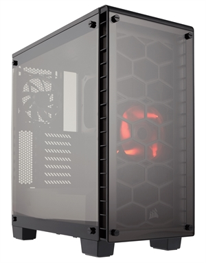 Corsair 460X Crystal Series Compact ATX Case with Tempered Glass