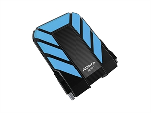 ADATA 1TB HD710 DashDrive Durable USB3.0 Portable External Hard Drive - Blue
