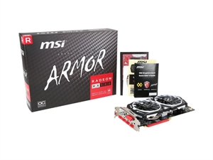 MSI Radeon RX 580 ARMOR 8G OC Graphics Card