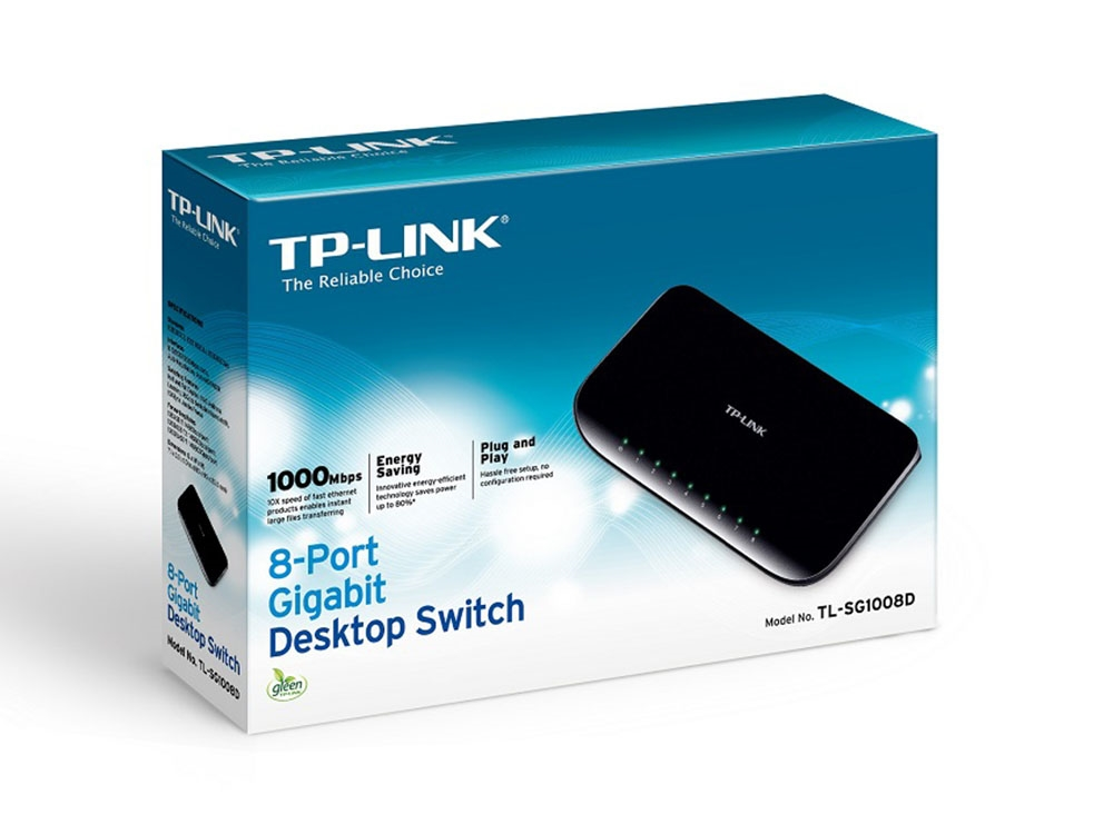 tp link tl sg1008d 8 port gigabit desktop switch tl sg1008d centre com best pc hardware. Black Bedroom Furniture Sets. Home Design Ideas