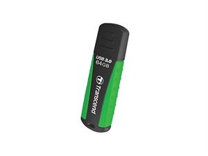 Transcend Jetflash®810 64GB Shock-Resistant USB3.0 Rubber Casing
