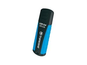 Transcend Jetflash®810 32GB Shock- resistant USB3.0 Rubber casing