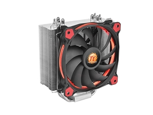Thermaltake Riing Silent 12 CPU Cooler - Red