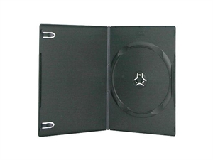 Intact DVD 7mm Slim Single DVD Case - Black