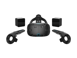 HTC Vive Virtual Reality Headset Kit - Consumer Edition - Coal Black