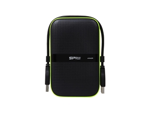 Silicon Power 1TB Armor A60 2.5'' Portable Hard Drive - Black