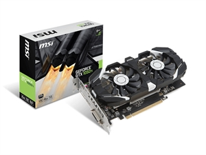 MSI GeForce GTX 1050 Ti 4G OC Graphics Card