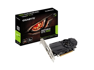 Gigabyte GeForce GTX 1050 OC 2GB Low Profile Video Card