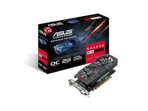 ASUS Radeon RX 560 Strix OC Gaming 4GB Graphics Card