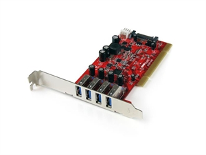 Startech 4 Port PCI USB 3.0 Card w/ SATA Power