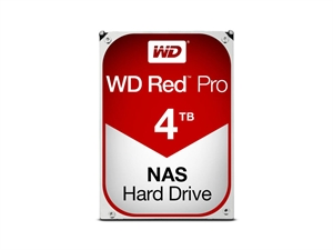 "Western Digital 4TB Red PRO 3.5"" NAS Hard Drive"
