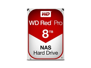 "Western Digital 8TB Red PRO 3.5"" NAS Hard Drive"