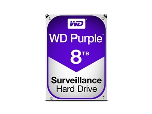 "Western Digital 8TB Purple Internal 3.5"" Desktop Hard Drive"