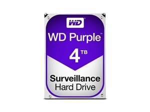 "Western Digital 4TB Purple Internal 3.5"" Desktop Hard Drive"