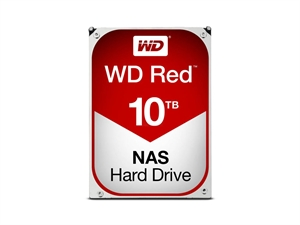 "Western Digital 10TB Red 3.5"" SATA3 NAS Hard Drive"