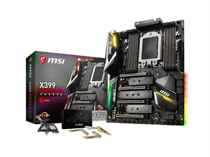 MSI X399 Gaming Pro Carbon AC TR4 Motherboard