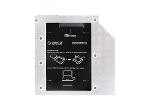 ORICO Aluminum 7 & 9.5 mm Internal Hard Drive Caddy for Laptops