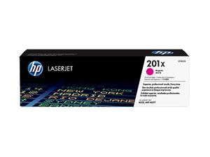 HP 201X High Yield Original LaserJet Toner Cartridge - Magenta