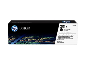 HP 201X High Yield Original LaserJet Toner Cartridge - Black
