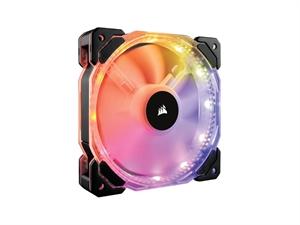 Corsair HD140 RGB LED 140mm PWM Fan - Single Fan Pack